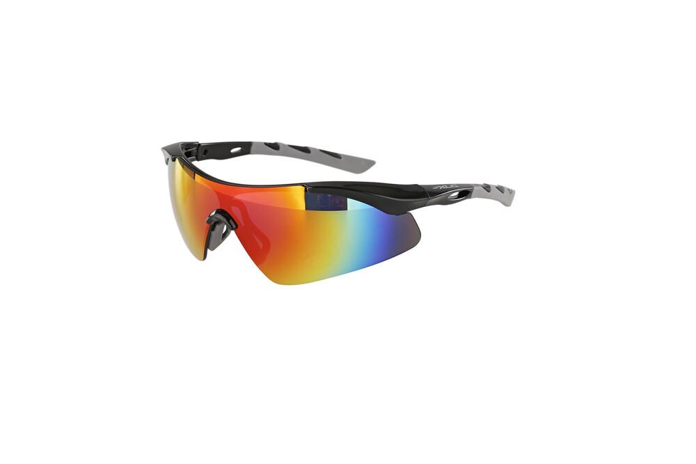 XLC Sonnenbrille 'Komodo'' SG-C09 Rahmen schwarz/grau Gläser verspiegelt (1 Stück) fNLNCaHtf